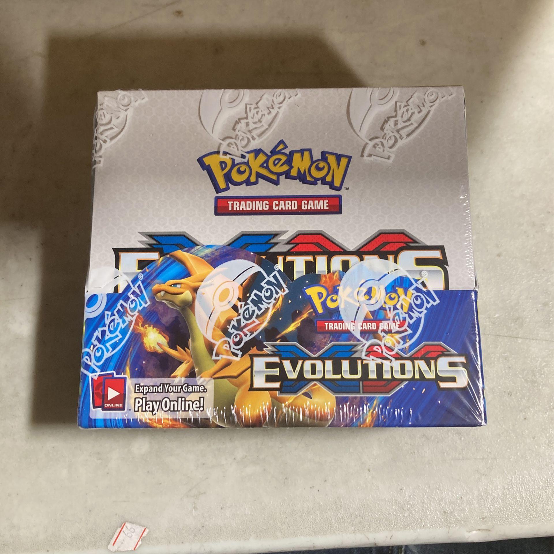 Pokémon Evolutions Booster