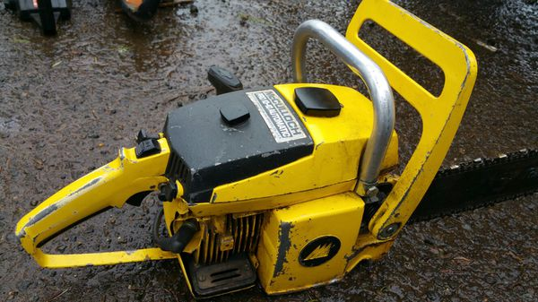 Mcculloch pro mac 10 10 automatic chainsaw for sale in albany or mcculloch pro mac 10 10 automatic chainsaw for sale in albany or offerup greentooth Images
