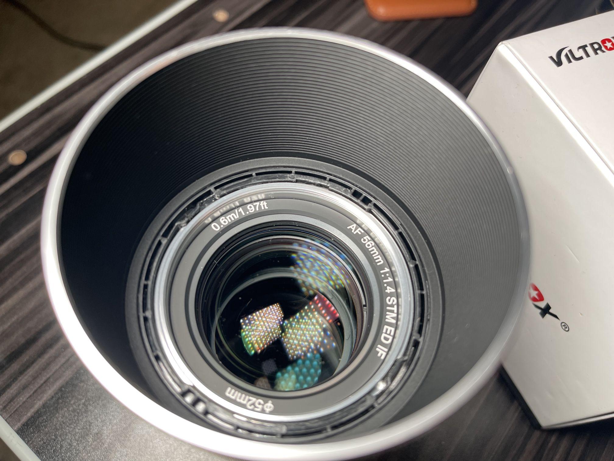 Viltrox 56mm F1.4 V2 Silver