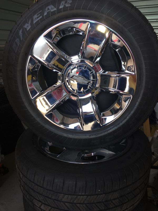 """20"""" Chevy Silverado 2018 Wheels and Tires for Sale in Austin, TX - OfferUp"""