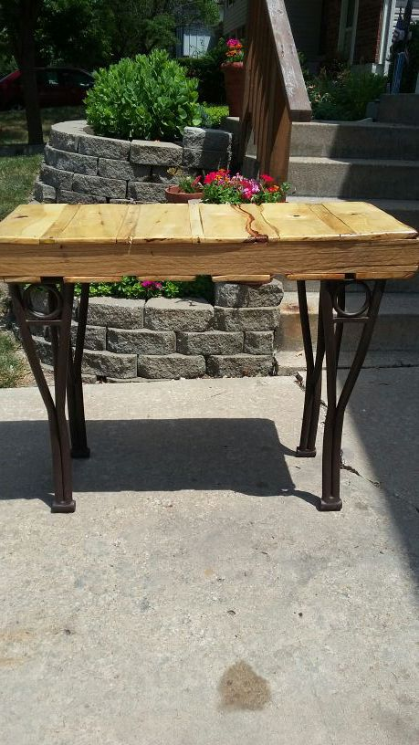 Industrial Style Pallet Sofa Table Desk Patio Table For Sale In
