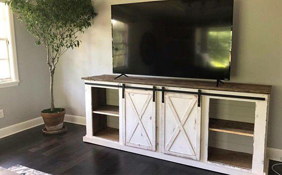 Custom Farmhouse Entertainment Center By Pallet Creators For Sale In Haines City FL