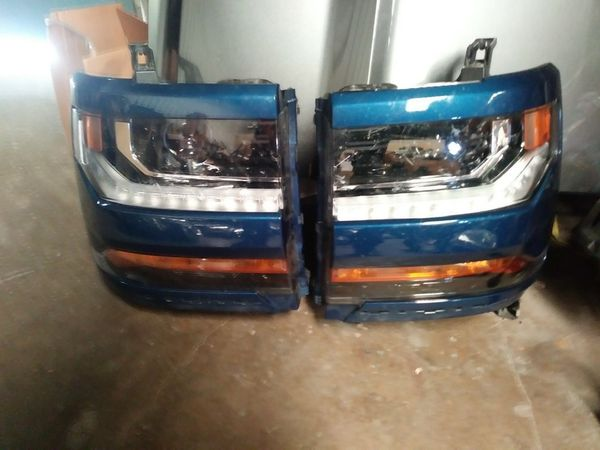 2016 2017 2018 Chevy Silverado Headlights Left And Right ...