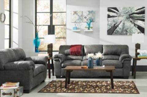 Ashley Grey Slate Sofa And Love Seat Only 699 Addison