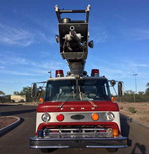 Fire truck 18,000 original miles, Detroit diesel,like new classic all works 100% for Sale in Mission, TX