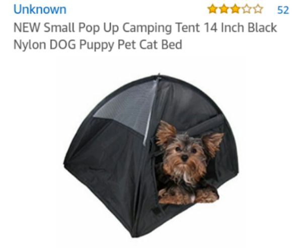 Small Pop Up Camping Tent Dog Or Cat Tea Cup Small Pet Supplies In
