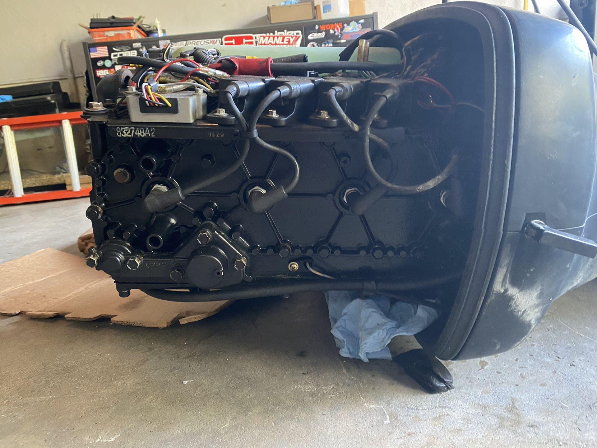 1998 merc 115 hp outboard motor