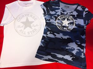 Cute & Stylish! Converse T's , Size S/M for Sale in Las Vegas, NV