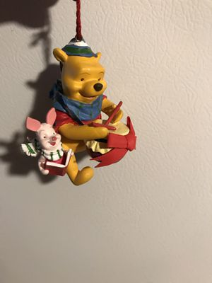 Winnie the Pooh and piglet ornament hand painted please check my other items for sale thank you for Sale in Cranford, NJ