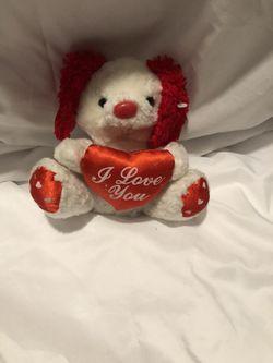 I Love You Teddy Bear  Thumbnail