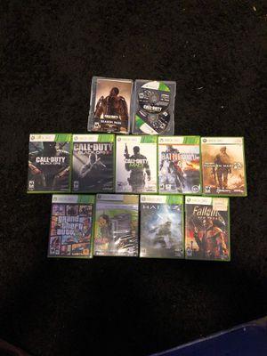 Xbox 360 game bundle for Sale in Fairfax, VA