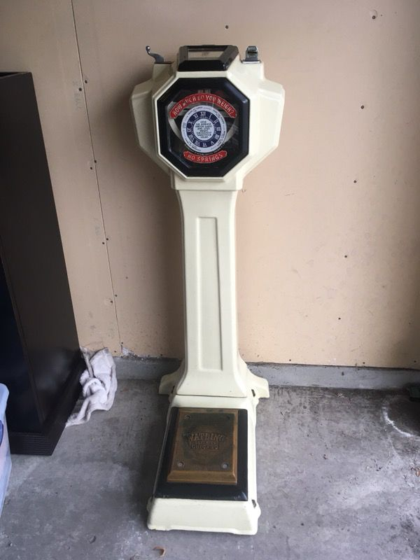 Marked Down Watling Scale Co 1930 Tom Thumb Scale
