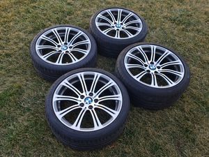 Photo OEM BMW m3 wheels 19 with tires and tpms