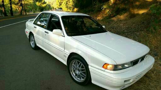 2 Cars 1991 Mitsubishi Galant Vr4 Limited Edition And A 91 Galant GS