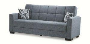 Armada Futon Sofa Grey for Sale in Houston, TX