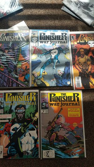 Punisher comic book lot for Sale in Whittier, CA
