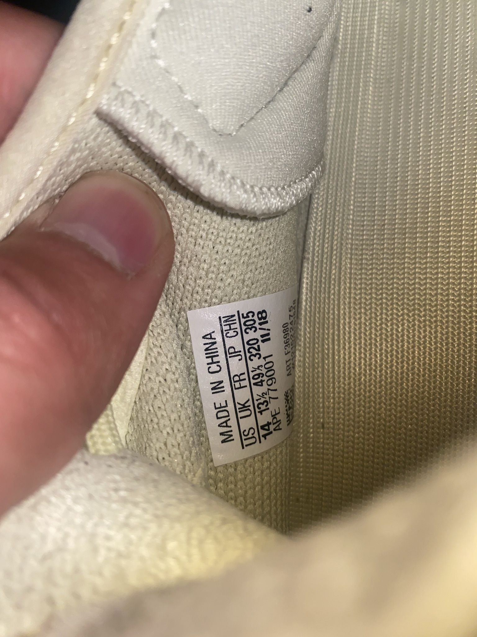 """Yeezy Boost 350 V2 """"butter"""" Size 14"""