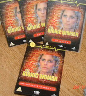 Bionic Woman Season 2 DVD set for Sale in San Francisco, CA