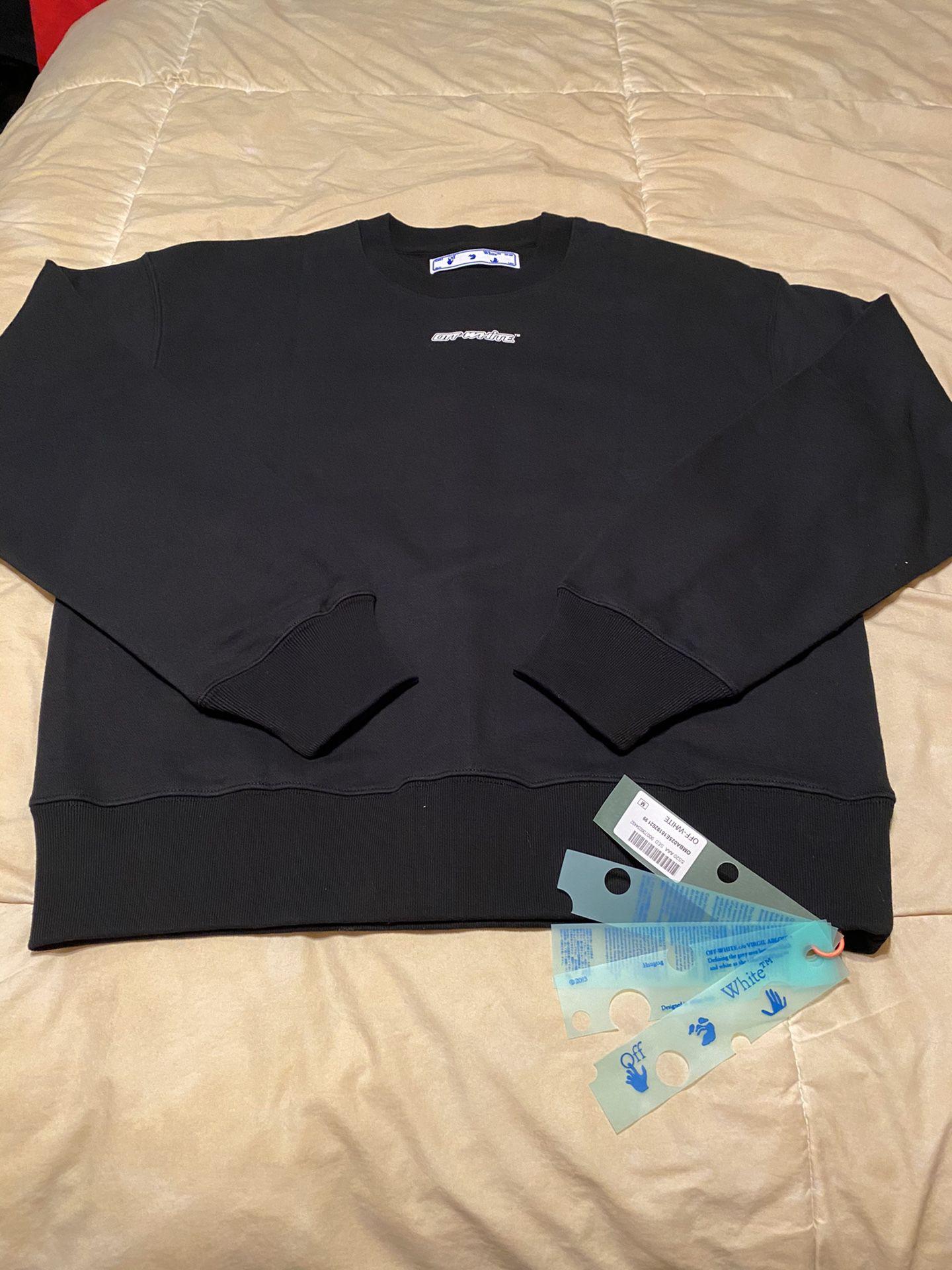 Off white sweatshirt Fits a medium & Large