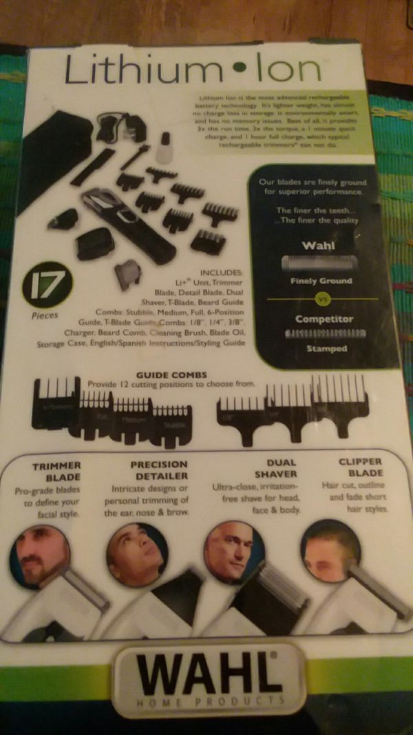 Wahl Lithium Ion Beard Trimmers New In Box For Sale In Vero Beach
