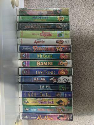 Photo Disney VHS lot