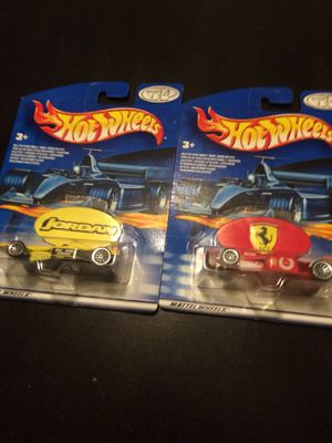Three rare hot wheels two F1 and an Indy car for sale  Glenpool, OK