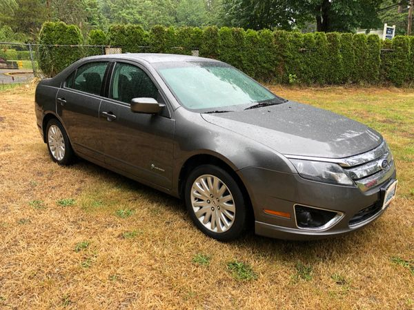 2010 Ford Fusion Hybrid Only 85k Miles 2 Owners Free Warranty Financing Available For In Woodinville Wa Offerup