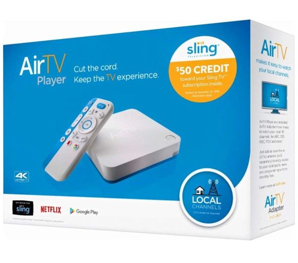 Air TV player for sling/Netflix/google play and local channels for Sale in  Raleigh, NC - OfferUp