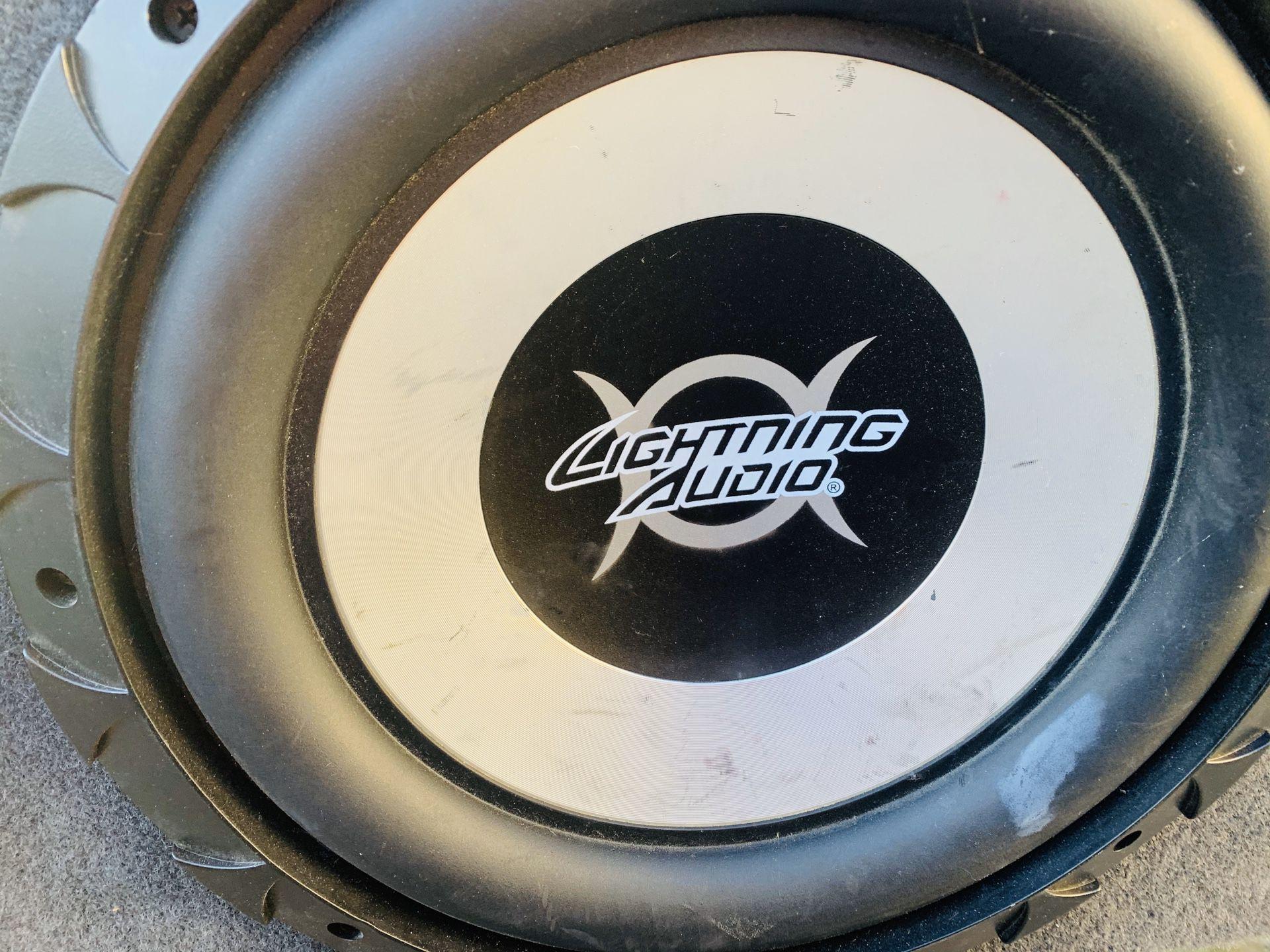 Lightning audio 12