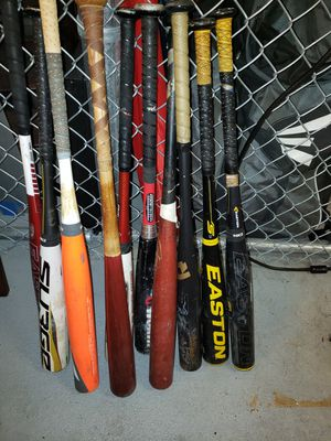 Used Aluminum Baseball Bats for Sale in Chevy Chase, MD