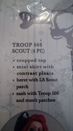 Scout 666 halloween costumes. Thumbnail