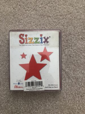 Sizzix star die for Sale in Cleveland, OH
