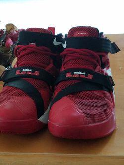Lebron's Soldier Shoes Thumbnail