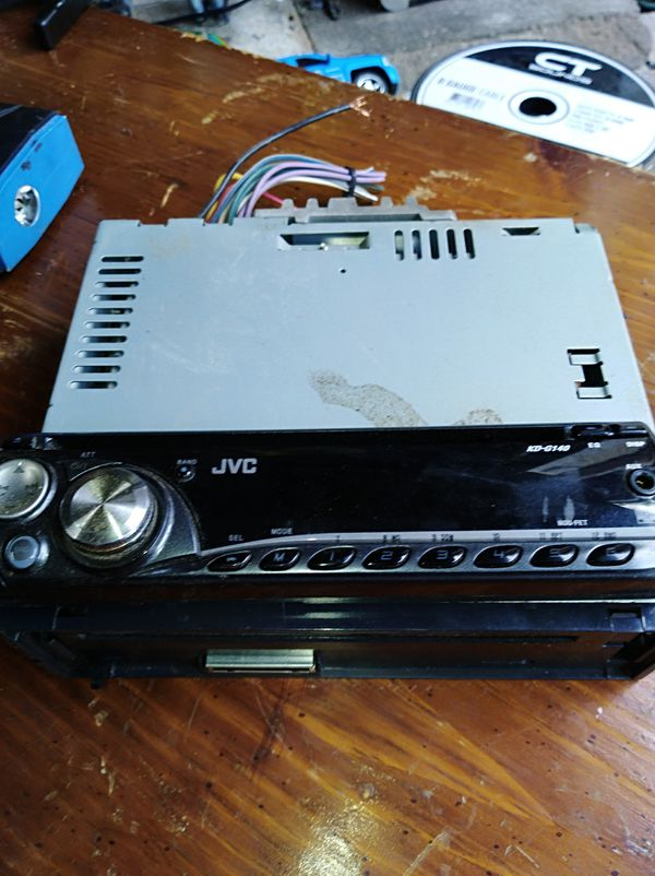 JVC KD-G140 CD receiver With auxliary for Sale in Indianapolis, IN ...