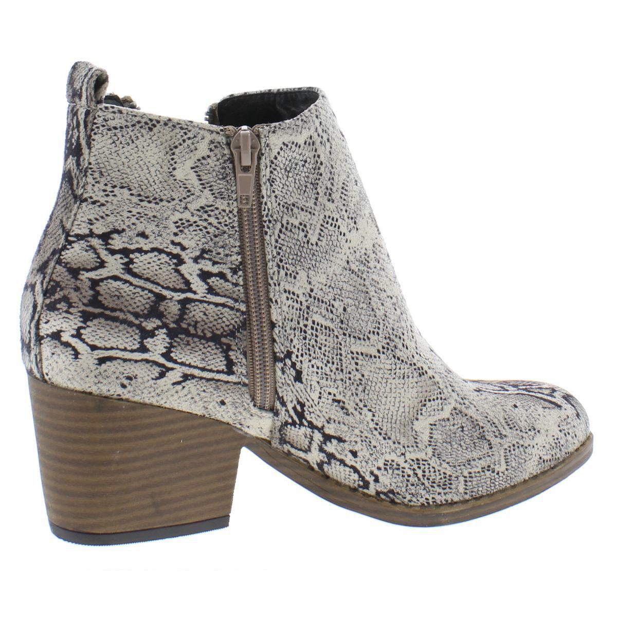 Boutique by Corkys Womens Fashion - Ankle Black-White Size 10 Medium (B,M)
