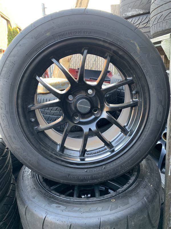 225 45 15 >> 949 Racing 15x8 With Nitto Nt01 225 45 15 For Sale In Seattle Wa Offerup