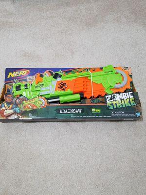 NERF Zombie Strike Brainsaw for Sale in Fairfax, VA