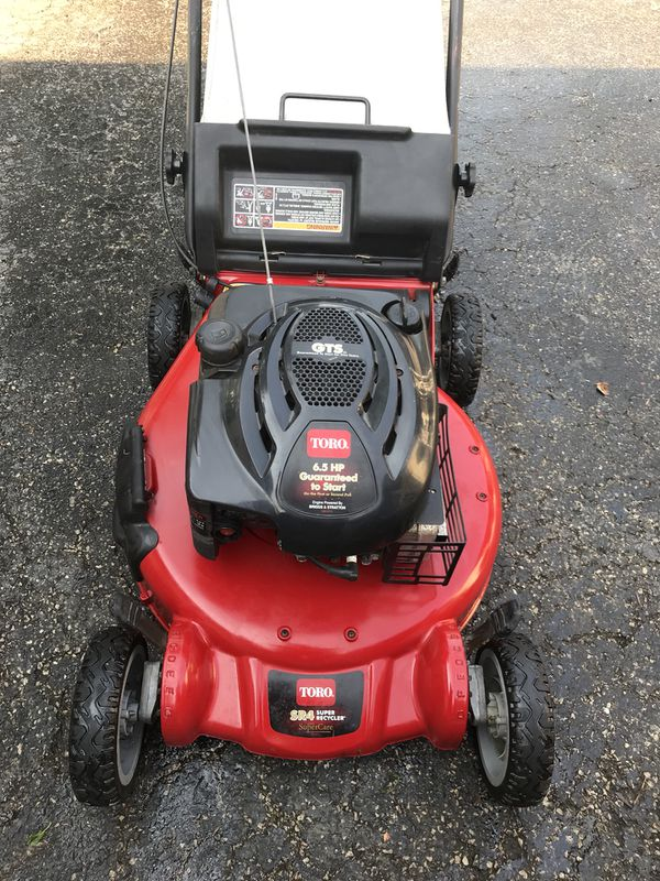 Toro Sr4 Aluminum Deck Starts At First Pull Push Mower Home Garden In Westmont Il Offerup