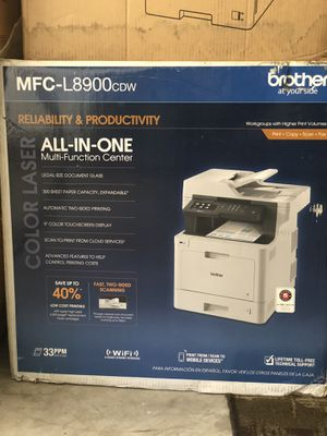 Brother office printer / model no. MFC-l8900cdw for Sale in Ashburn, VA