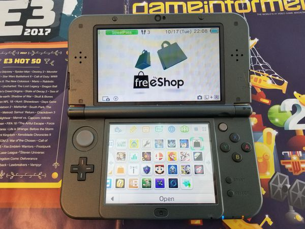 New Nintendo 3ds XL cfw freeshop streaming capture card for Sale in San  Diego, CA - OfferUp