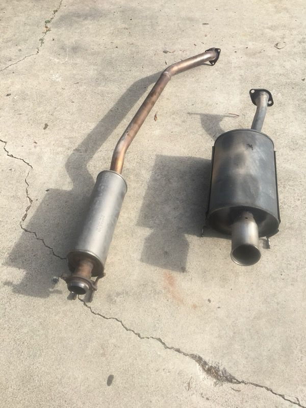 OEM Acura Rsx Type S Exhaust For Sale In Del Mar CA OfferUp - Acura rsx type s exhaust