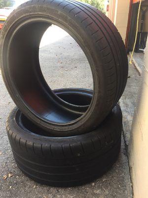 245 35 18 Michelin Super Sport set of 2 tires for Sale in Manassas, VA