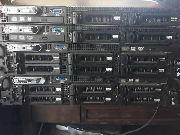 4 Dell Servers for Sale for Sale in Walnut, CA - OfferUp