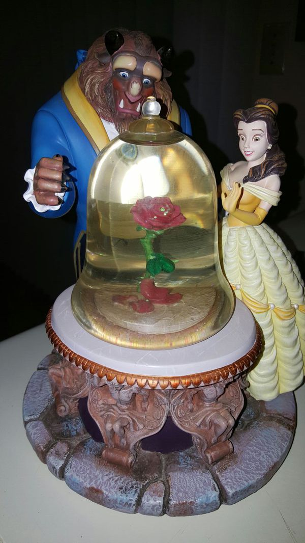 Rare Beauty And The Beast Snow Globe For Sale In Auburn Wa Offerup