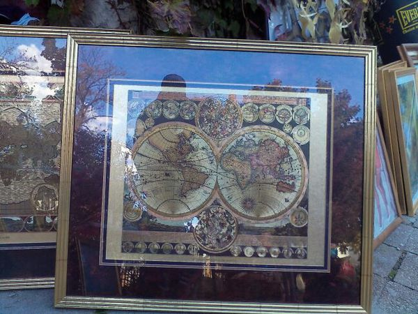 Gold world map by peter schenk the elder 1645 1715 antiques in gold world map by peter schenk the elder 1645 1715 antiques in morton grove il offerup gumiabroncs Image collections