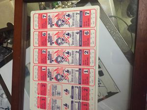 OriginalWorld Series game 1,2,6,7 game tickets for Sale in Denver, CO