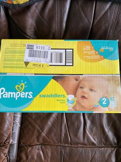 Pampers size 2 Swaddlers Diapers Thumbnail