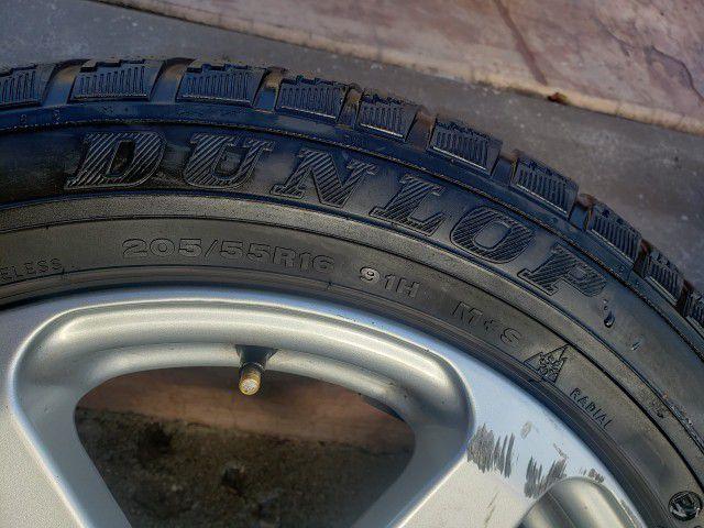 205/55R16 Dunlop Tires W/ Sport Edition Rims