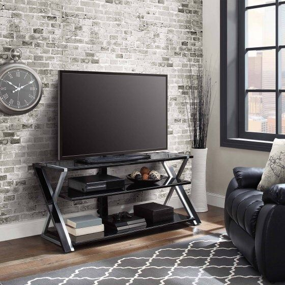 Whalen Xavier 3 In 1 Flat Panel Tv Stand For Tvs Up To 70 Already