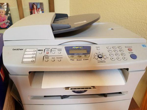 brother mfc-7420 laser jet printer for Sale in Sacramento, CA - OfferUp